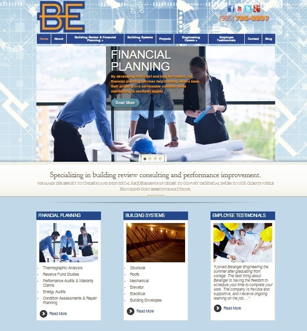 belanger engineering website
