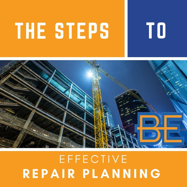 The Steps to Effective Repair Planning