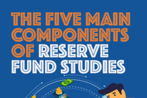 The Five Main Components of Reserve Fund Studies [infographic]